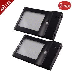 (56.26$)  Watch more here - http://aib5m.worlditems.win/all/product.php?id=32648801285 - 2-Pack Brightest 48 LED Solar Power Light Motion Sensor IP65 Wall Garden Outdoor Security Lamp 4 Modes With 5.5V 5W Solar Panel