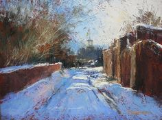 Taking the Back Road by Margi Lucena Pastel ~ 9 x 12