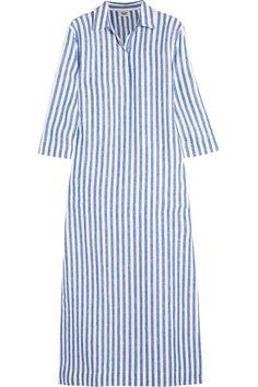 Sleepy Jones | Celia striped linen kaftan | NET-A-PORTER.COM