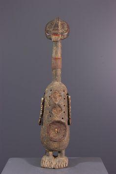 Poupée Namji Dowayo - Statues-statuettes - Art africain #ArtAfricain #Statues #Namji African Dolls, African Masks, African Art, African Sculptures, Small Sculptures, Statues, Art Premier, Art Africain, Decorative Bells