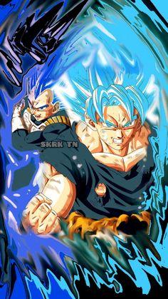 Goku Super, Super Saiyan, Goku And Vegeta, Dbz, Majin, Dragon Ball Z, Comic Book, Video Game, Cartoons