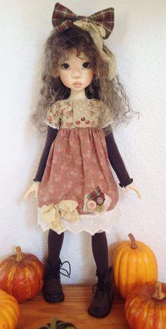 Dress Set with Patches Fits Kaye Wiggs MSD Laryssa Body by DCH | eBay