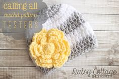 Anyone want to test a cute pattern? Check out the blog post for details on how to do it!