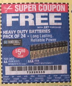 18 Best coupons images in 2019 | Coupons, Harbor freight