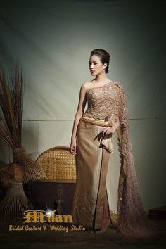 ชุดไทยแต่งงานชุดไทยจักรพรรดิ