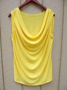 DIY : top drapé - http://www.petitcitron.com/blog/2013/07/diy-top-drape/