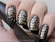 Christmas Nails - Wagon Trail Stamped