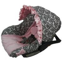 Little Pink Dress Infant Car Seat Cover