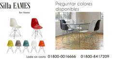 Solo lo mas nuevo para ti, siempre con novedades, conoce la Silla Eames, un diseño unico