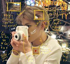 """""""🍼 anatomy of (nong) taeyong 💘"""" Photo Bubbles, Jung Jaehyun, Jaehyun Nct, Nct Taeyong, Na Jaemin, Kpop, You Look Like, Bruce Lee, Yugyeom"""