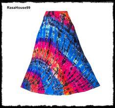 Boho Skirts, Tie Dye Skirt, My Etsy Shop, Check, Shopping, Fashion, Moda, Fashion Styles, Fashion Illustrations