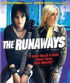 The Runaways movie poster (2010)--The only movie I like Kristen Stewart in. Weird movie, but good.