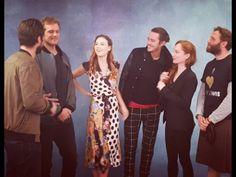 Outlander cast for Landcon in Paris Source:Tumblr
