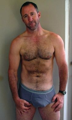 Opinion, men muscular nude hairy older And