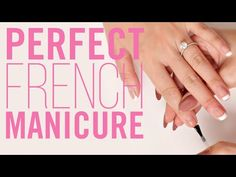 How To do a Perfect French Manicure with the Perfect Formulas Nail Essentials Kit.