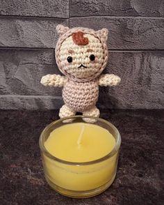 도깨비~ #손뜨개인형 #코바늘인형 #아미구루미 #도깨비 #amigurumi #crochetdoll #goblin Goblin, Candle Holders, Candles, Instagram Posts, Amigurumi, Candy, Light House, Candle, Candle Stands
