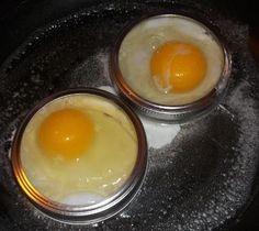 mason jar lid egg holders