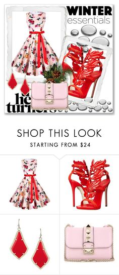 """""""LOVE"""" by aammiraa ❤ liked on Polyvore featuring Giuseppe Zanotti and Valentino"""