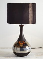 GBP 63   Chocolate flora Table Lamp