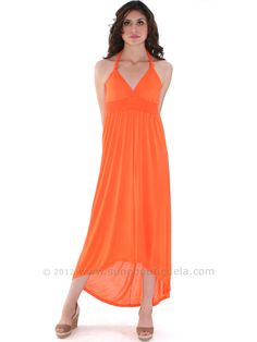 Maxi Dress with High Low Hem. Style #: 1024. Also available in white. Final sale for only $16. Get yours today at www.SungBoutiqueLA.com