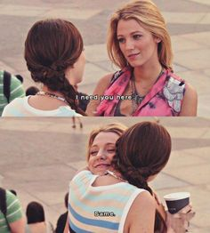 serena and Blair best friends Gossip Girls, Gossip Girl Quotes, Bff Goals, Best Friend Goals, Best Friends, Serena And Blair, Nate Archibald, Jenny Humphrey, Chuck Bass