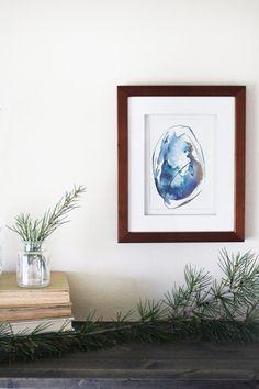 Original Artwork Abstract Watercolor Painting by KendraCastillo
