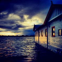 Lake Wendouree, Ballarat where I start my runs from each morning, known as The Club House