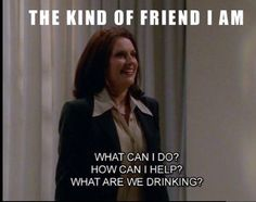 "Community Post: 21 Times Karen Walker From ""Will And Grace"" Spoke To Your Soul Haha Funny, Hilarious, Funny Stuff, Funny Shit, Funny Humor, Funny Things, Random Things, Minions, Your Soul"