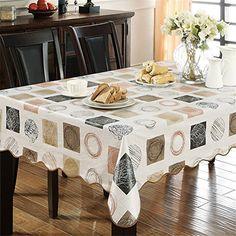 Lovely Vinyl Tablecloth Rectangle