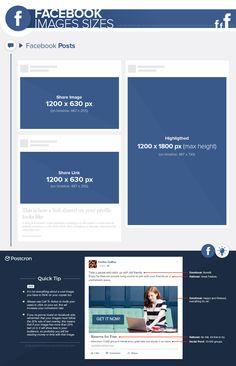 #FacebookImageSizes 2017 - #Facebook #FacebookSizes