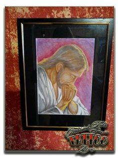 Jesus color draw