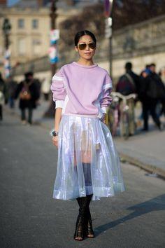 Street Style: Paris Ladies Love Fur - The Cut Source by diaifju fashion Look Fashion, High Fashion, Fashion Outfits, Fashion Trends, Japan Fashion, India Fashion, Paris Street Fashion, For Elise, Looks Street Style