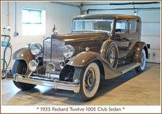 1933 Packard Twelve by sjb4photos, via Flickr