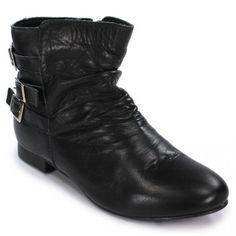 Ankle boot preta BER91708___002