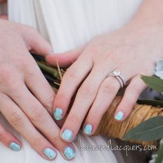 Lace & Lacquers Turquoise Inspired Boho Chic Nail Art + TUTORIAL!