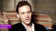USA TODAY Tom Hiddleston - what's your best interaction with a Loki fan?