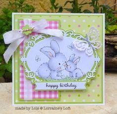 Lorraine's Loft: Wild Rose Studio 'Spring Bunnies'