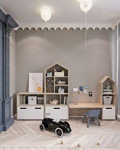 kleinkind zimmer Showcase and discover creative work on the worlds leading online platform for c Kids Room Art, Kids Room Design, Kids Bedroom, Trendy Bedroom, Bedroom Art, Design Design, Logo Design, Playroom Decor, Baby Room Decor