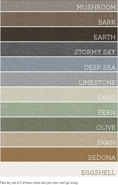 warm home color pallet - should cover all parts of the house - upper and lower! This One Is It Suzanne.......Beautiful!