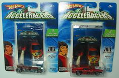 HOT WHEELS 2004 CARTOON NETWORK ACCELERACERS  LOT OF 2 CARS  ADD THESE TO YOUR COLLECTION  1) METAL MANIACS RAT-IFIED MATTE BROWN #8 OF 9  2) METAL MANIACS RIVITED METALLIC ORANGE #4 OF 9  3 COLLECTIBLE GAME CARDS INCLUDED WITH EACH CAR  THESE CARS ARE IN THEIR ORIGINAL PACKAGING AND AS YOU CAN SEE BY THE PHOTOS ARE IN GREAT CONDITION  PLEASE LIKE MY FACEBOOK PAGE www.facebook.com/InternationalDiecastToysVehiclesForum WHEN YOU GET A CHANCE. THANKS, $19.88