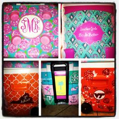 Lilly-inspired painted Get ready for tailgating season! First Impression Great Graduation Gifts, Cooler Connection, Sorority Formal, Big Little Reveal, Cooler Painting, Spring Break, Summer, Custom Paint, Verano