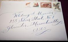 Gus & Ruby Letterpress: Custom Work: Geraldine and Bryce