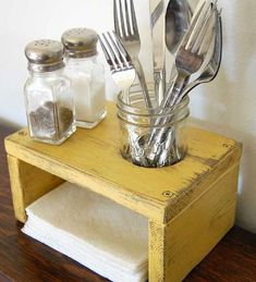 Easy DIY small counter shelf in the kitchen