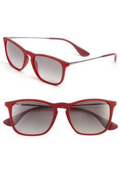 Ray-Ban 'Youngster' Square Keyhole 54mm Sunglasses available at #Nordstrom