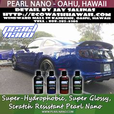 Pearl Nano Coatings - Jay Salinas from Eco Wash Hawaii - Ceramic Coating - Mustang Polished out to a mirror finish. http://Pearlnano.comhttp://EcoWashHawaii.com - Live on Oahu and Need your car paint corrected and coated with the Pearl nano coatings? Jay is the one to call. He is located at the Windward mall parking deck. #ecowashhawaii #jaysalinas #pearlnano #ceramiccoating