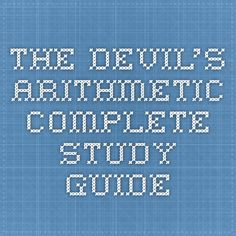 the holocaust the devils arithmetic essay Read this essay on holocaust i find that the devil's arithmetic and the novel night both illustrate the struggles and hard reality that occurred inside the camps.