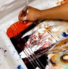 Abstract Art Painting Ideas, Techniques, Tips, Tricks and Tools at AbstractArtLesson.com