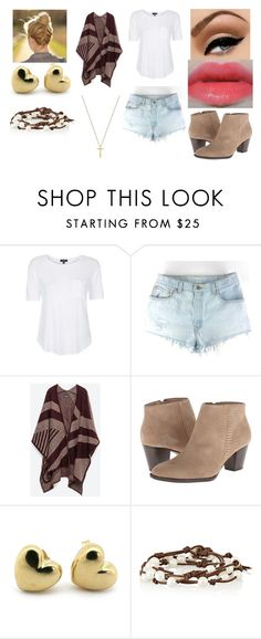 A walk 26 by miks15 on Polyvore featuring Topshop, Zara, Gucci and Chan Luu