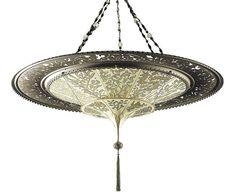 Venetian pendant light