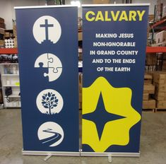 Share your vision and purpose with retractable banners!